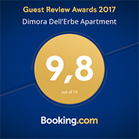 Dimora dell'Erbe Booking.com Guest Review Awards